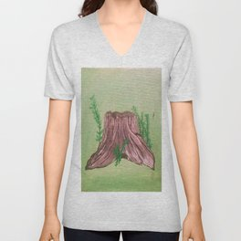 The Stump Unisex V-Neck