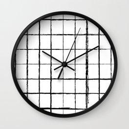 Chicken Scratch #619 Wall Clock