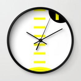 Holy Cheeseburgers! Wall Clock