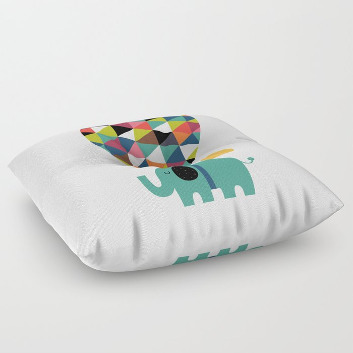 Fly High And Dream Big Floor Pillow By Andywestface Society6