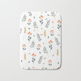 Wildflowers II Bath Mat
