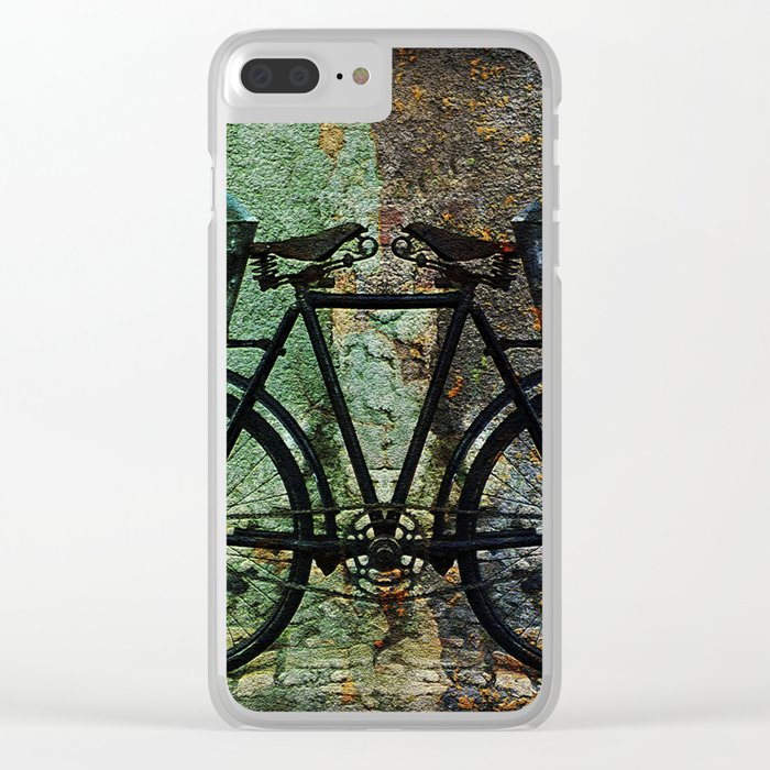 No Handlebars Needed Clear iPhone Case
