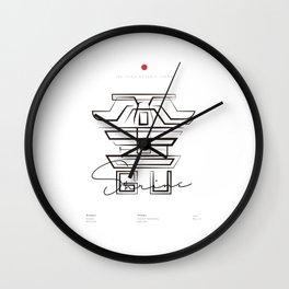 NIKKO TOSHOGU Wall Clock