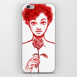 Rose Red iPhone Skin