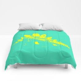 Vintage Toy Dinosaur  |  Stegosaurus Comforters