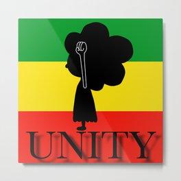 Unity Little Black Child Metal Print