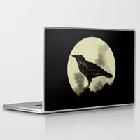 crow Laptop & iPad Skins featuring Crow by Arts and Herbs