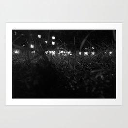 St Andrews at Night #3 Art Print