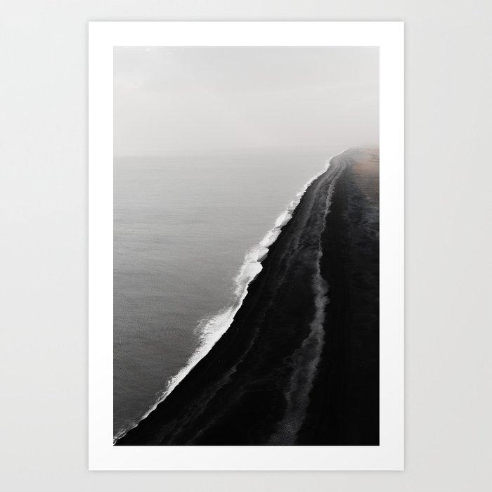 BLACK SAND BEACH Kunstdrucke