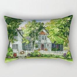 The Red Door Rectangular Pillow