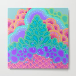 COTTON CANDY Metal Print