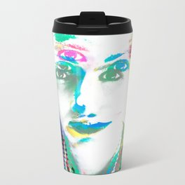 Color Privacy Metal Travel Mug