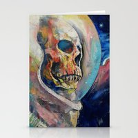 astronaut Stationery Cards featuring Astronaut by Michael Creese