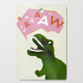 Dinosaur Raw! Cutting Board