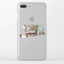 Staples and Portholes Clear iPhone Case