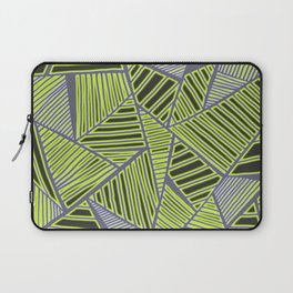 Florida Leaves Pattern Laptop Sleeve