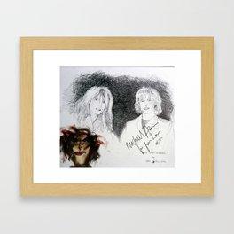 Gene-loves-Jezebel Framed Art Print