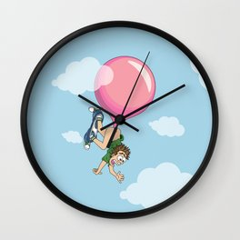 Don't Swallow Your Bubble Gum Wall Clock