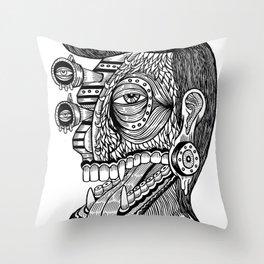 self portrait Throw Pillow