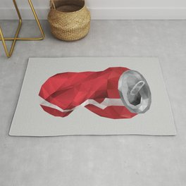 Crushed Cola Can Rug
