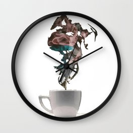 A cup of ? Wall Clock