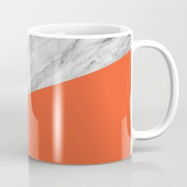 Marble and Flame Color Coffee Mug