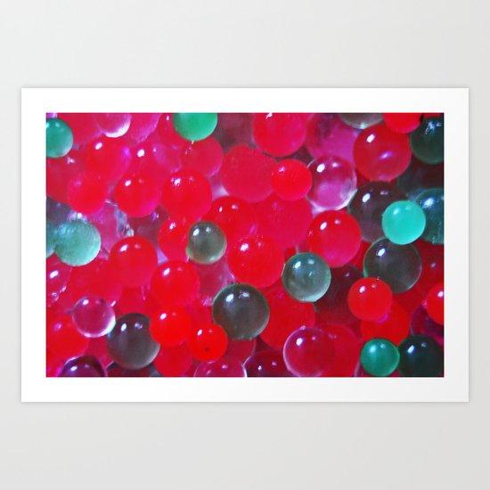 Bubblé Art Print