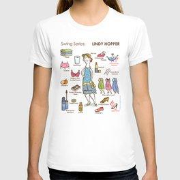 SWING SERIES: LINDY HOPPER (female) T-shirt
