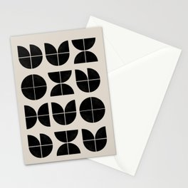 Bauhaus Style Art Stationery Cards
