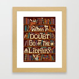 Go to the library Framed Art Print