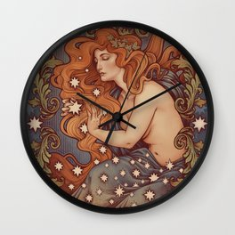COSMIC LOVER color version Wall Clock