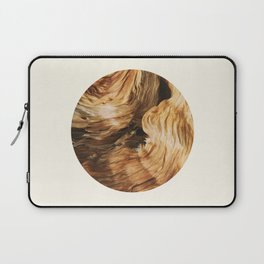 Abstract Wood Design Laptop Sleeve