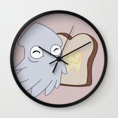 Kraken Toast Wall Clock