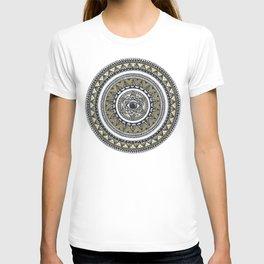 Golden Eye Mandala T-shirt