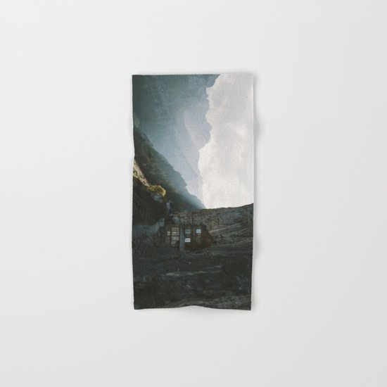Mountain Cabin - Landscape Photography Hand & Bath Towel