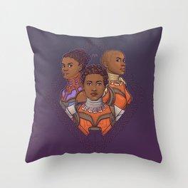 Wakanda Women Throw Pillow