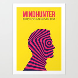 Mindhunter Minimalist Alternative Poster Art Print