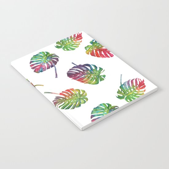 Tropical plant Notebook