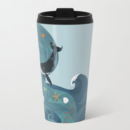 Aquatic Life of a Seaflower Travel Mug