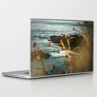 west coast Laptop & iPad Skins featuring West Coast Oceans by Amy J Smith Photography