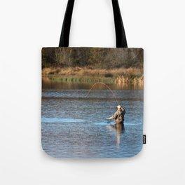 Gone Fishing 2 Tote Bag