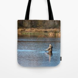 Gone Fishing 2 Tote Bag