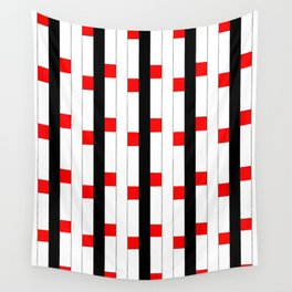 Tribute to mondrian 3- piet,geomtric,geomtrical,abstraction,de  stijl, composition. Wall Tapestry