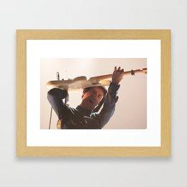 Johnny Marr Guitar Hero Framed Art Print