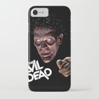 evil dead iPhone & iPod Cases featuring The Evil Dead by Dr. Eff Designs