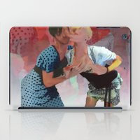 monster inc iPad Cases featuring Xdressers Inc. by Shadoe Leibelt