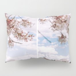 Washington DC Cherry Blossoms - Diptych Pillow Sham