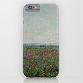 Claude Monet - Champ De Coquelicots iPhone Case