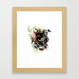 Walleyed Karakul Framed Art Print