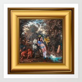 In the Land of Gods and Monsters, I was an Angel Art Print